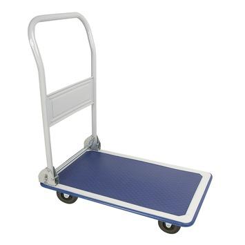 Plateauwagen met neerklapbare steun max. 150 kg