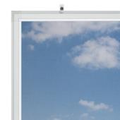 Bruynzeel vaste raamhor s500 125x155 cm wit