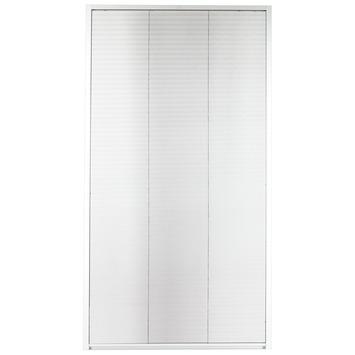 Bruynzeel raamhor plissé s500 83x155 cm aluminium