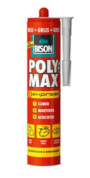 Bison Poly Max express grijs koker 425 g