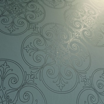 Vliesbehang ornament grijs (dessin 4090-90)