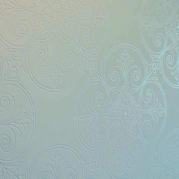 Vliesbehang stip wit (dessin 4090-10)