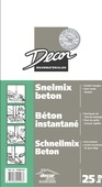 Decor snelmix beton