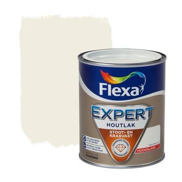 Flexa Expert houtlak hoogglans ral 9010 gebroken wit 750 ml