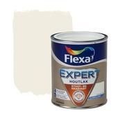 Flexa Expert houtlak zijdeglans ral 9010 gebroken wit 750 ml