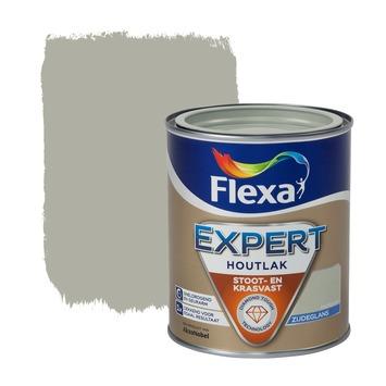 Flexa Expert houtlak zijdeglans kiezelgroen 750 ml