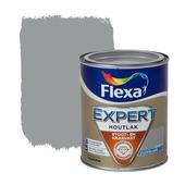 Flexa Expert houtlak zijdeglans grijsblauw 750 ml