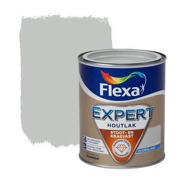 Flexa Expert houtlak zijdeglans zilvergrijs 750 ml