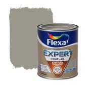 Flexa Expert houtlak zijdeglans grijsbruin 750 ml