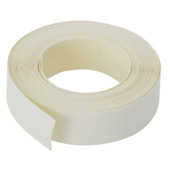 Strijkband wit 20 mm (rol 5 m)