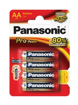 Panasonic Pro Power Batterij AAA 1,5 V 4 Stuks
