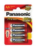 Panasonic Pro Power batterij AA 1,5V (4 stuks)