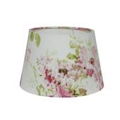 Lampenkap drum Roos wit/print 35 cm