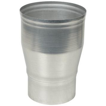 Verloopstuk vergroot aluminium 90 x 110 mm