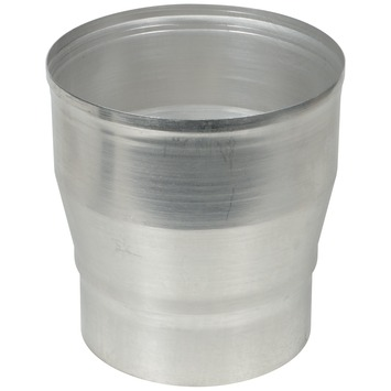 Verloopstuk vergroot aluminium 130 x 150 mm