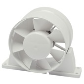 IVC Air buisventilator PVC 125 mm