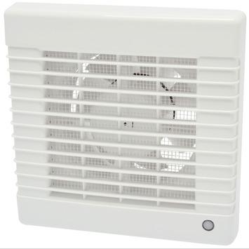 IVC Air inbouwventilator standaard met timer wit Ø 125 mm