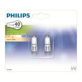 Philips EcoHalo halogeencapsulelamp helder G9 28W 2 stuks