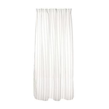 karwei kant en klaar gordijn wit met zwarte streep 1110 140 x 280 cm