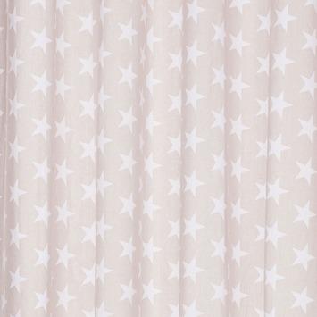 karwei kant en klaar gordijn 140x280 cm 1097 grijs met witte ster