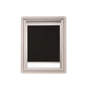KARWEI dakraam rolgordijn VELUX® UK04 zwart (7005)