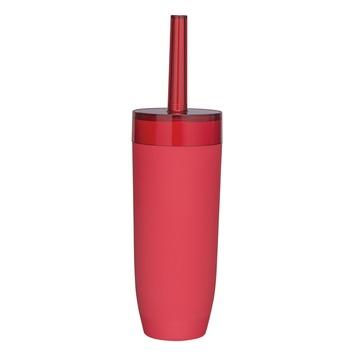 Sealskin Bloom toiletborstelhouder rood