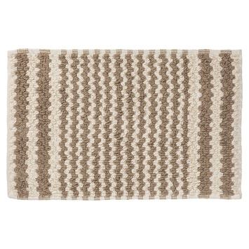 Sealskin Motif badmat zand 50x80 cm