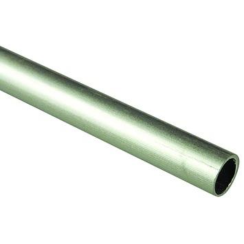 12,7 mm gordijnroede aluminium 200 cm