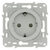 Schneider Electric Merten Odace stopcontact RA aluminium