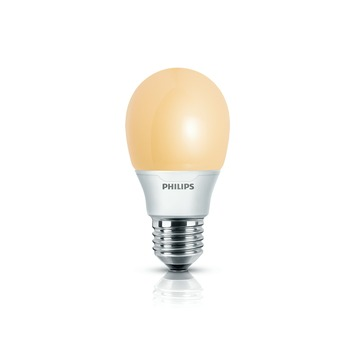 Philips Softone spaarlamp flame kogel E27 11W