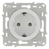 Schneider Electric Merten Odace stopcontact geaard wit