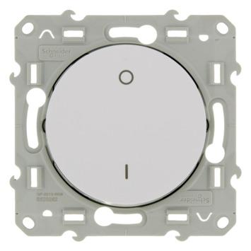 Schneider Electric Merten Odace schakelaar 2-polig wit