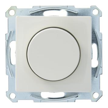 Schneider Electric System M dimmerknop + centraalplaat wit