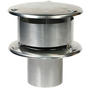 Rookgaskap aluminium 100 mm