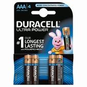 Duracell Ultra Power batterij AAA 1,5V (4 stuks)