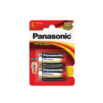 Panasonic Pro Power batterij C 1,5V (2 stuks)