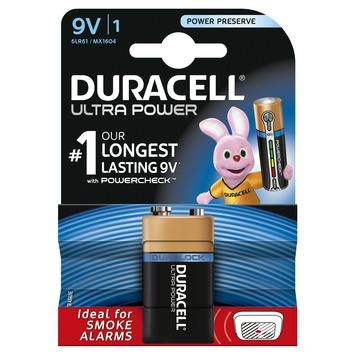Duracell Ultra Power Duralock batterij blok 9V