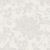 Vliesbehang bloem wit (dessin 31-853)