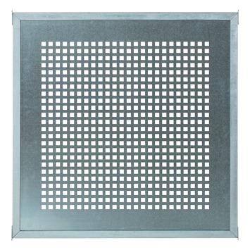 Cubic scherm metalen plaat met frame 90x90 cm