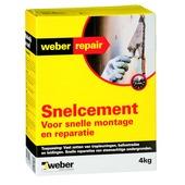 Weber SG snelcement 4 kg