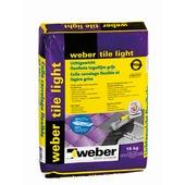 Weber SG poeder tegellijm Tile Light grijs 15 kg
