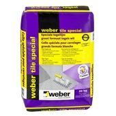 Weber SG poeder tegellijm Tile Special wit 20 kg