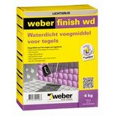Weber SG voegmiddel waterdicht grijs 4 kg