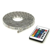 Prolight LED-strip gekleurd 5 m met afstandsbediening (IP44)