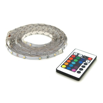 Prolight LED-strip gekleurd 5 m met afstandsbediening (IP20) kopen ...