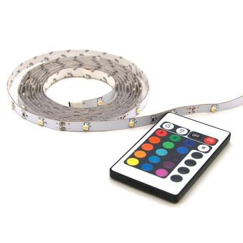 Prolight LED-strip gekleurd 2 m met afstandsbediening (IP20l)
