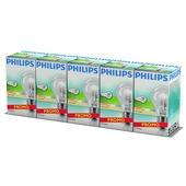 Philips EcoClassic halogeenlamp peer helder E27 42W 5 stuks