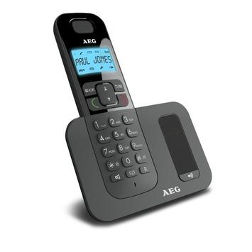 AEG Voxtel DECT telefoon D500 zwart