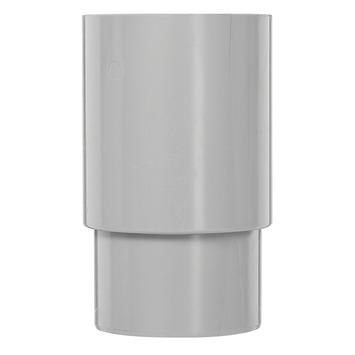 Martens PVC verbindingsstuk 80 mm grijs verlengd
