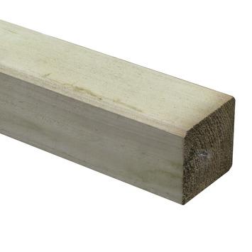 Tuinpaal geïmpregneerd ca. 8,8x8,8 cm, lengte ca. 180 cm